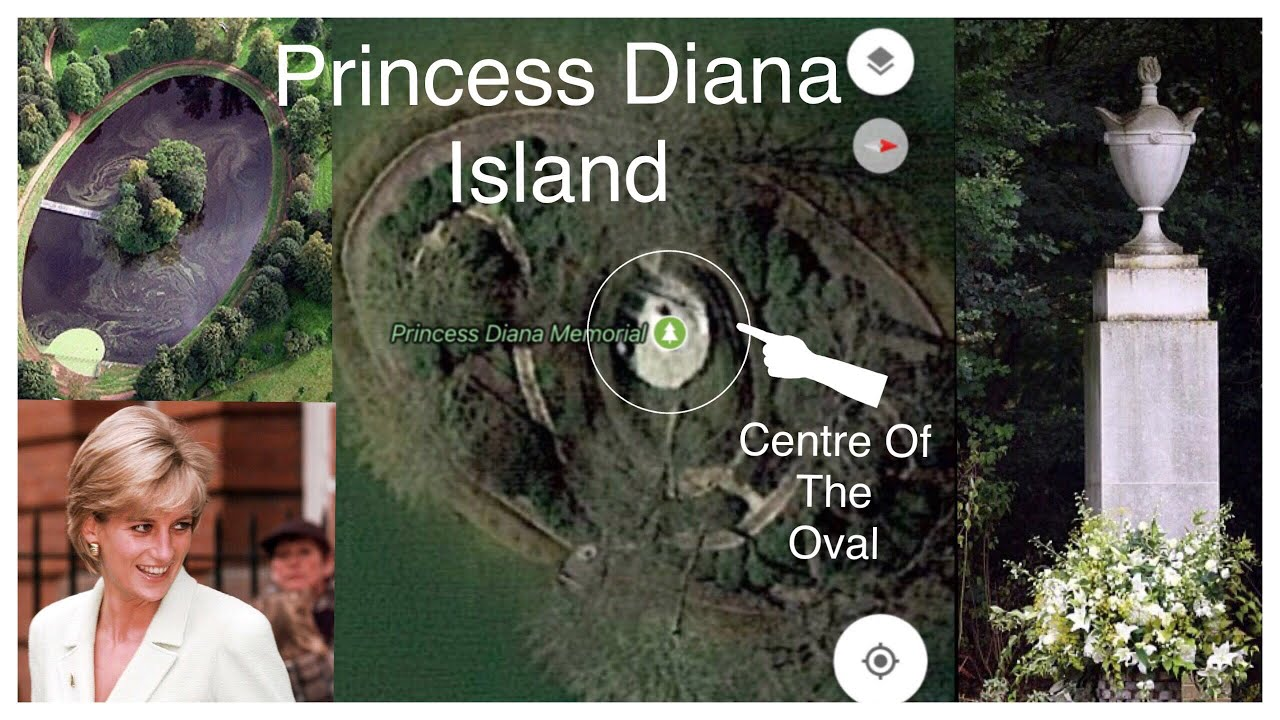 PRINCESS DIANA See What's At Centre Of Island - YouTube