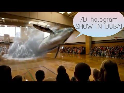 7D Hologram Technology Ama2zing Show in Dubai !! | tech ...