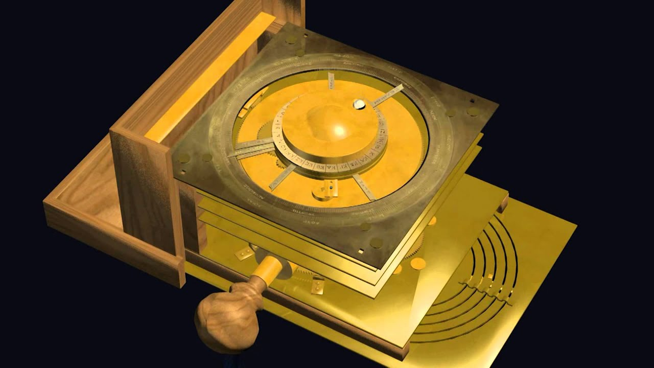 Virtual Reconstruction of the Antikythera Mechanism ...