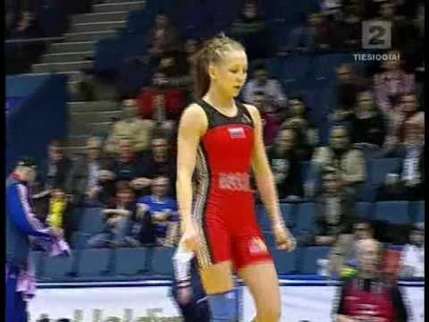 Female Wrestling European Championships 2009 1 - YouTube