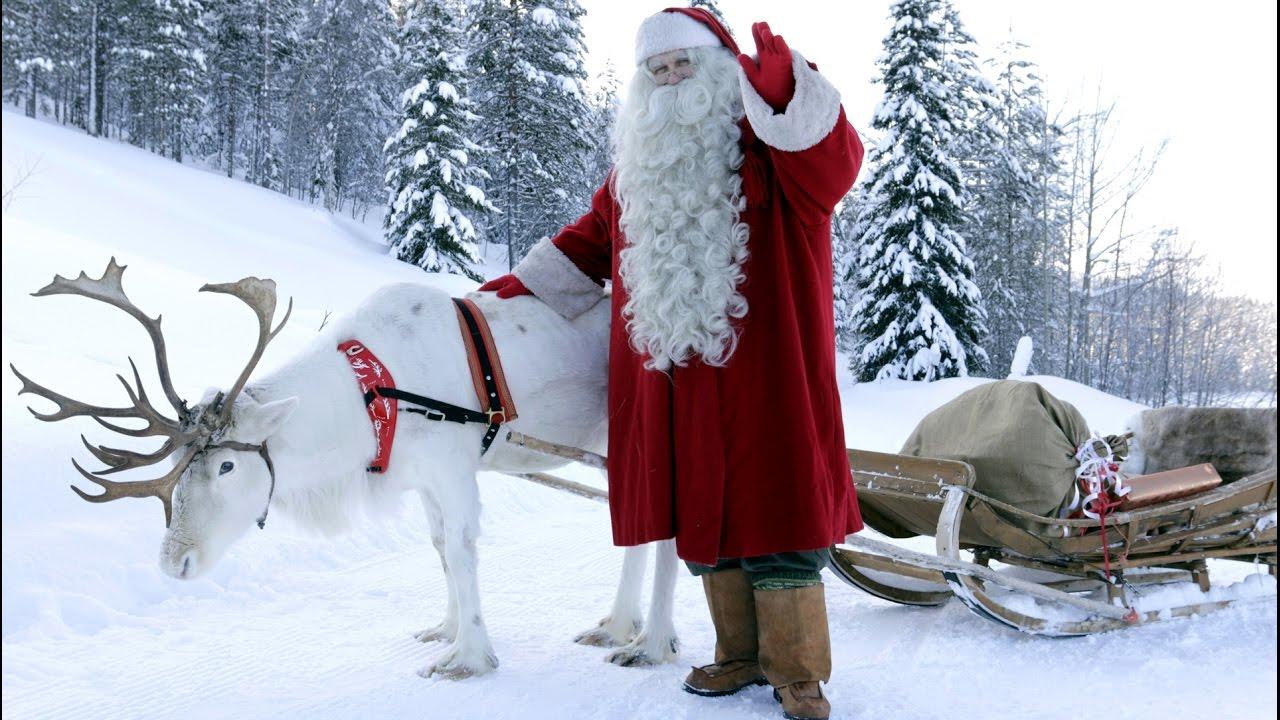 Père Noël en Laponie dernières nouvelles aux enfants sur ...