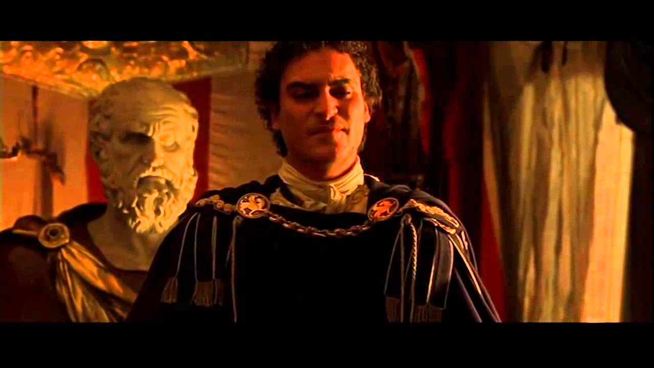 16 Gladiator Commodus Murders Marcus Aurelius Full Scene ...