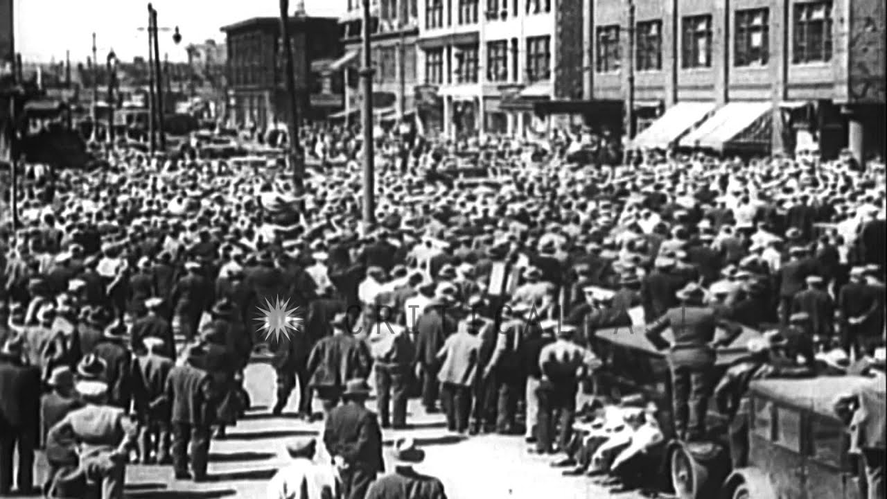 The General Strike in San Francisco, during July 1934 HD ...