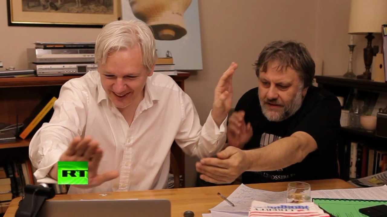 Julian Assange's The World Tomorrow: Slavoj Zizek & David ...
