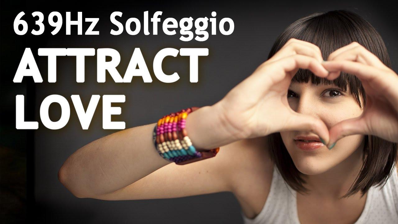 SOLFEGGIO 639 Hz ⧊ ATTRACT LOVE ⧊ POWERFUL Sleep ...