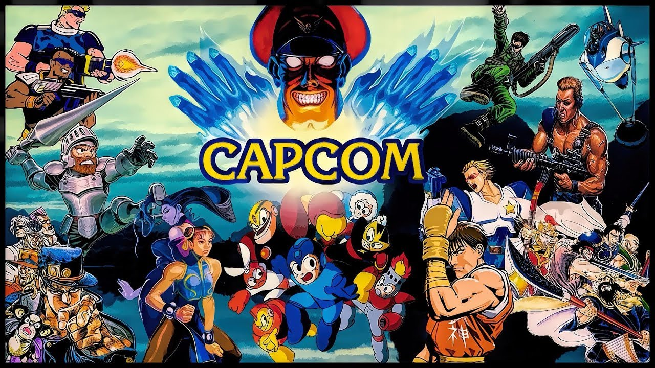 Best CAPCOM Arcade Games || TR Old School Gamer Collection ...