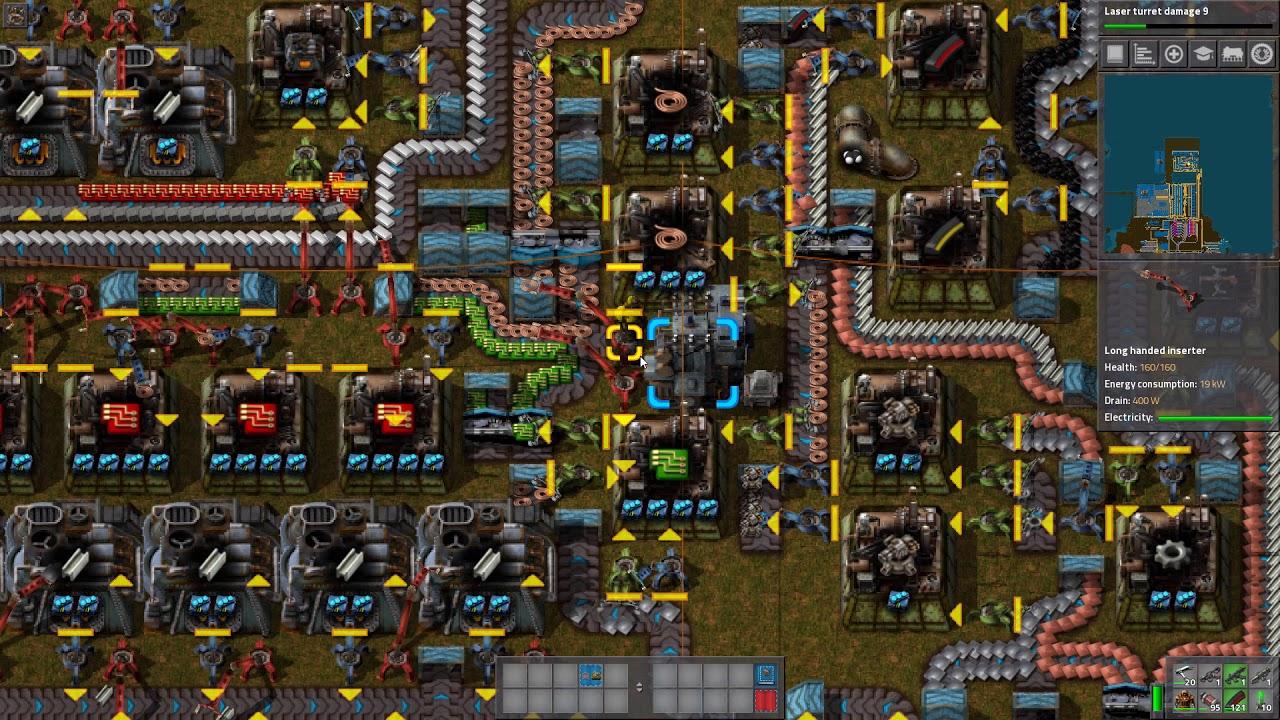 Factorio Science Blueprint - Design Templates