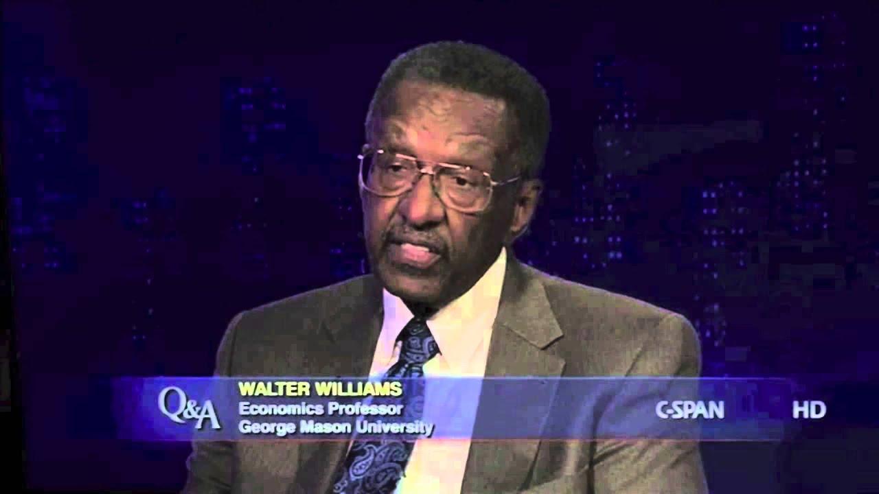Walter E Williams - Freedom To Discriminate - YouTube