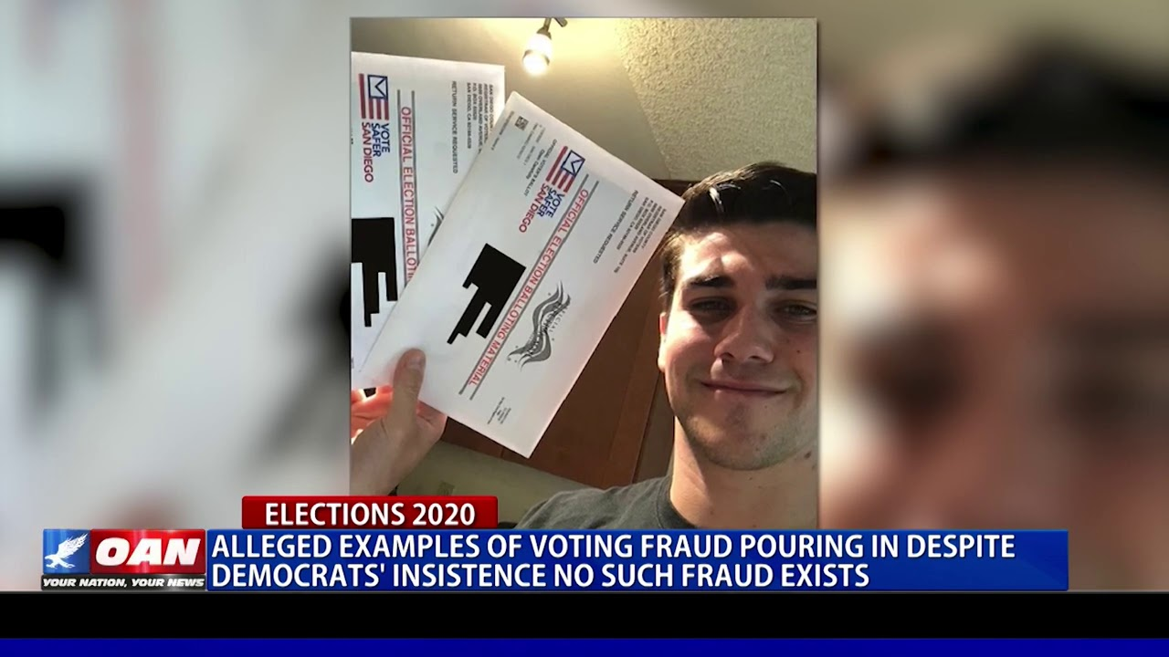 Alleged examples of voting fraud pouring in despite ...