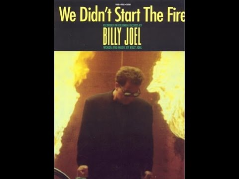 We Didn't Start The Fire - Billy Joel (1080p) (Best Video ...