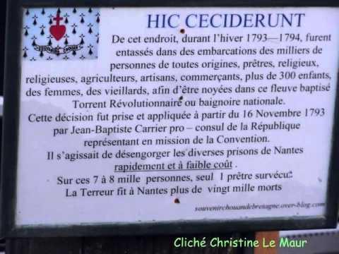 Commémoration des Noyades de Nantes. 2012. - YouTube