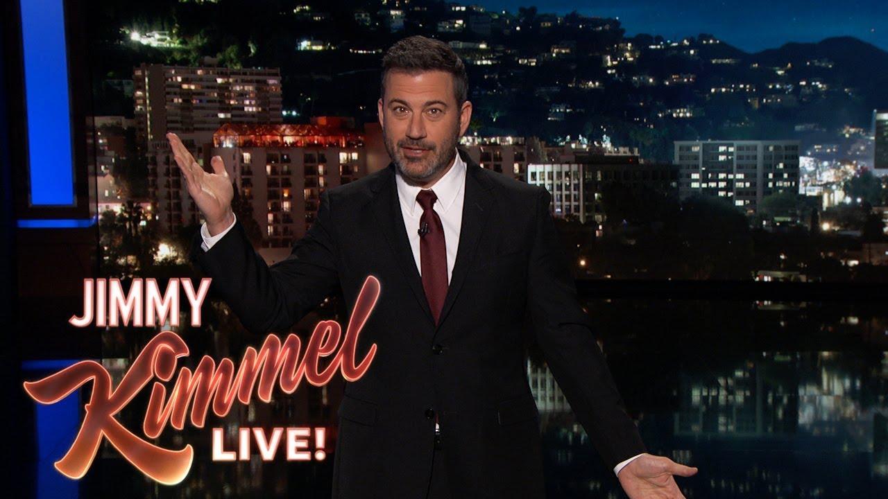 Jimmy Kimmel on LA Earthquakes - YouTube