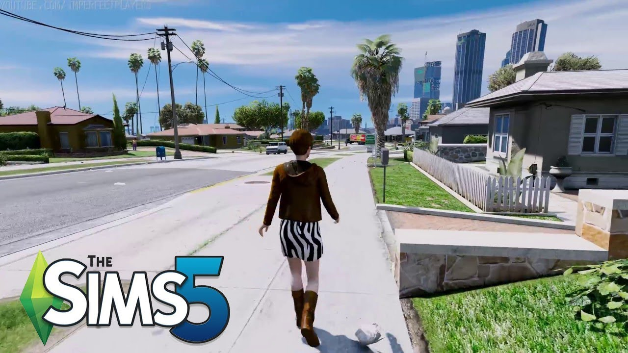 sims 5 trailer (2018) - YouTube