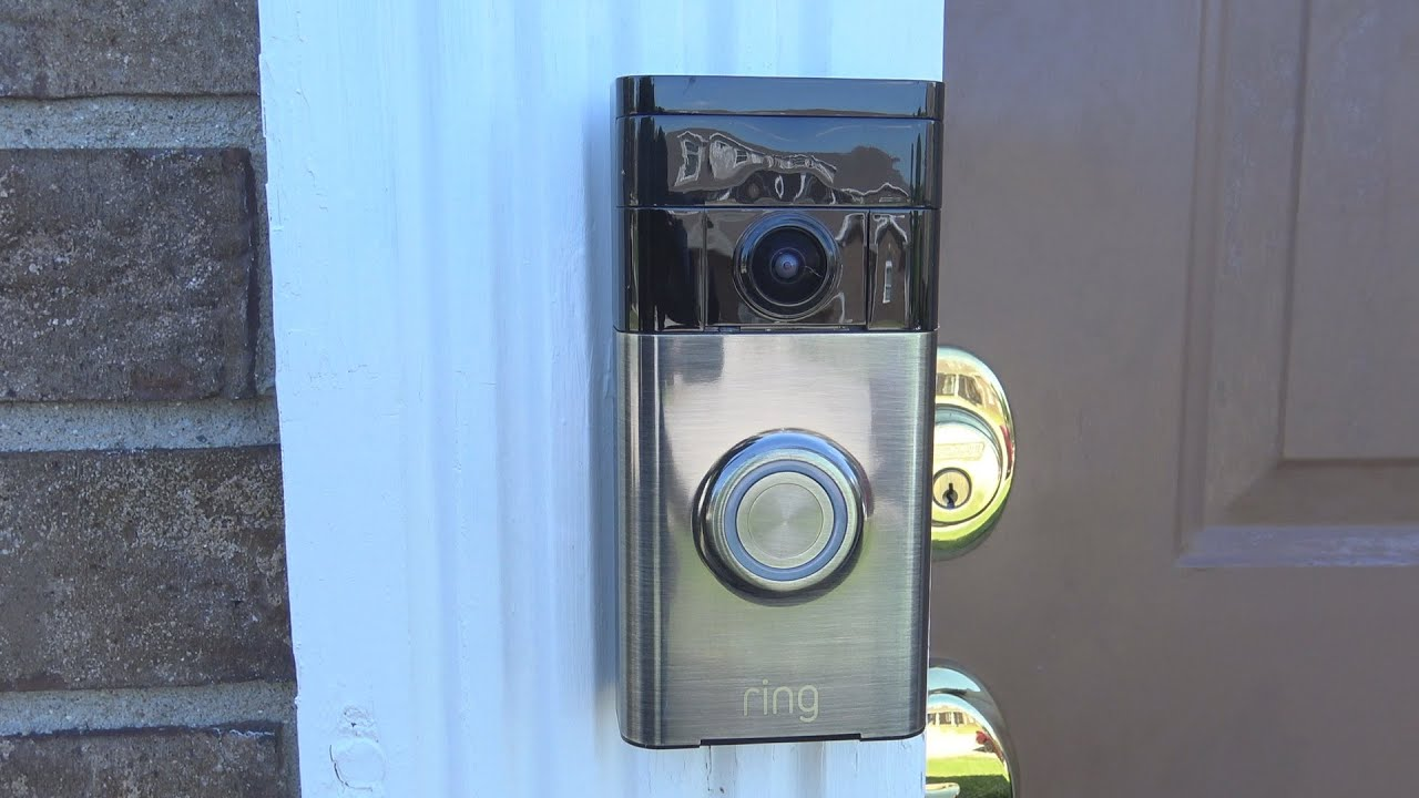 Ring Video Doorbell Review! - YouTube
