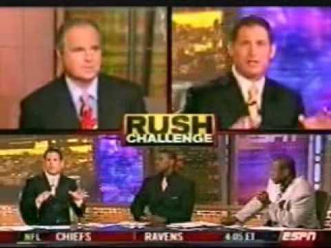 Rush Limbaugh 2003 ESPN Comments on Donovan McNabb ...