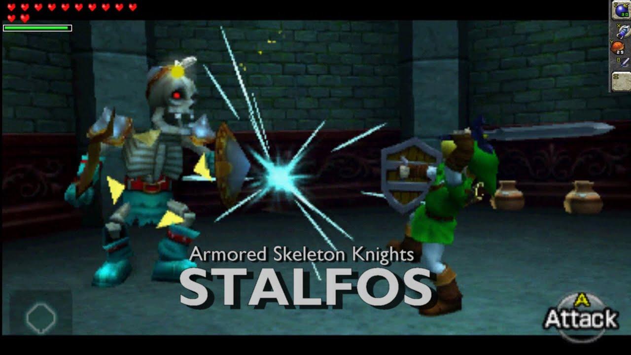 The Legend of Zelda: Ocarina of Time 3D - Mini Boss ...