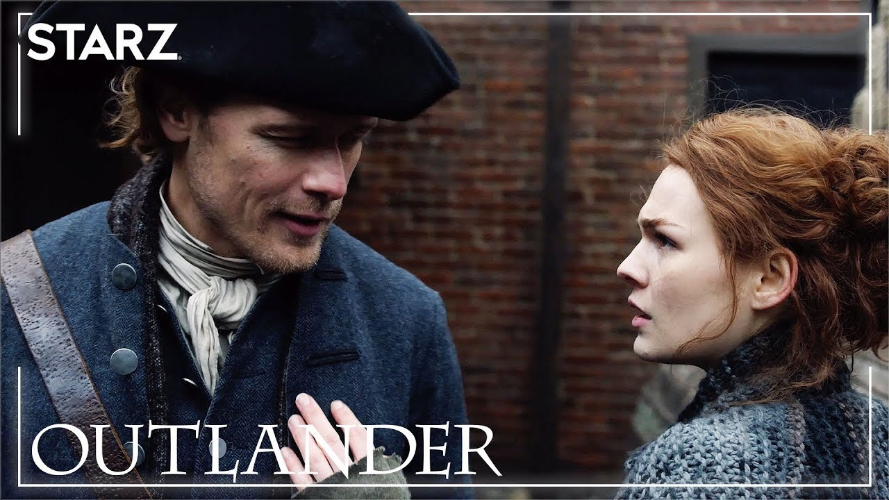 Outlander | Jamie and Brianna Meet | STARZ - YouTube