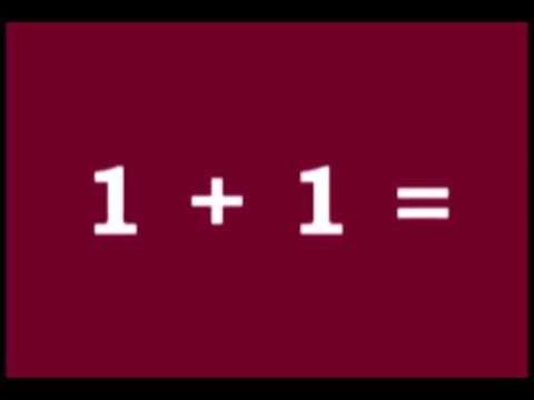 Kids' Math: Adding One Plus One - YouTube
