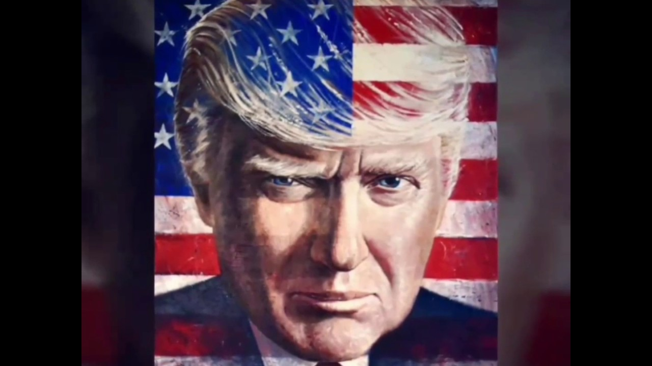 Patriotic Trump Portraits Now Available! - YouTube