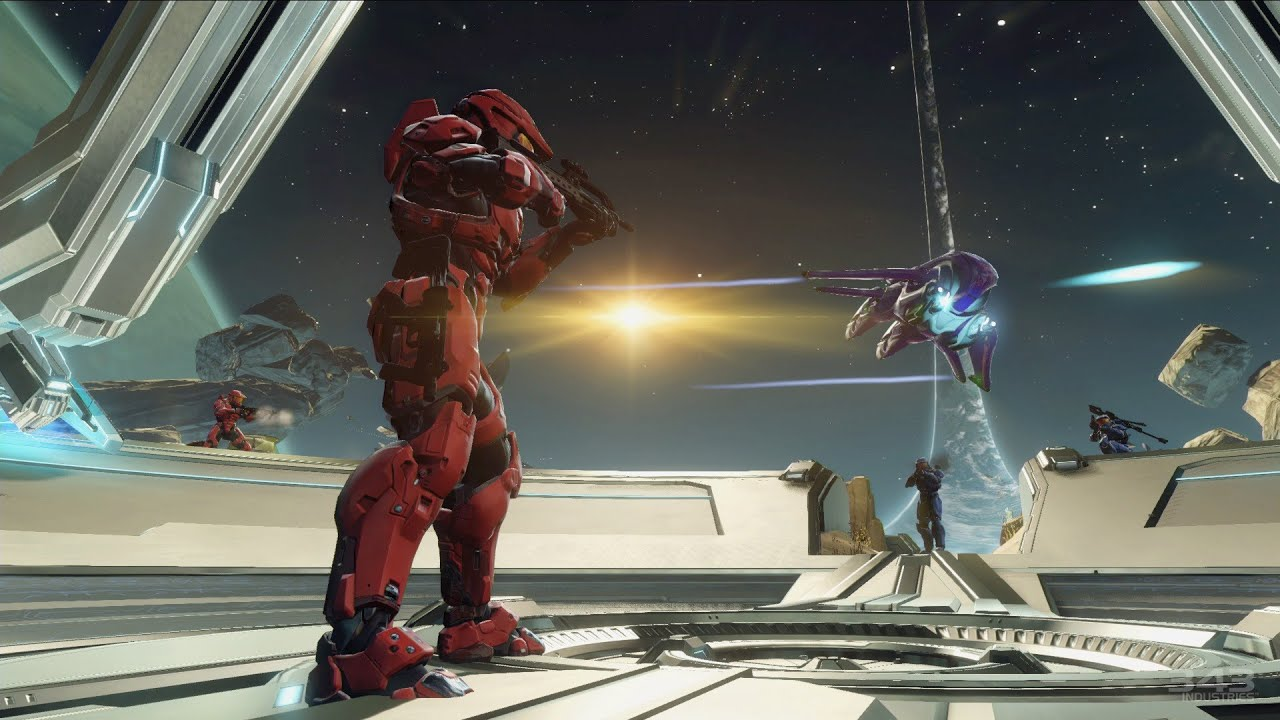 Halo 2 'Ascension' Remake 'Zenith' Gameplay - Halo The Master Chief Collection - IGN First - YouTube