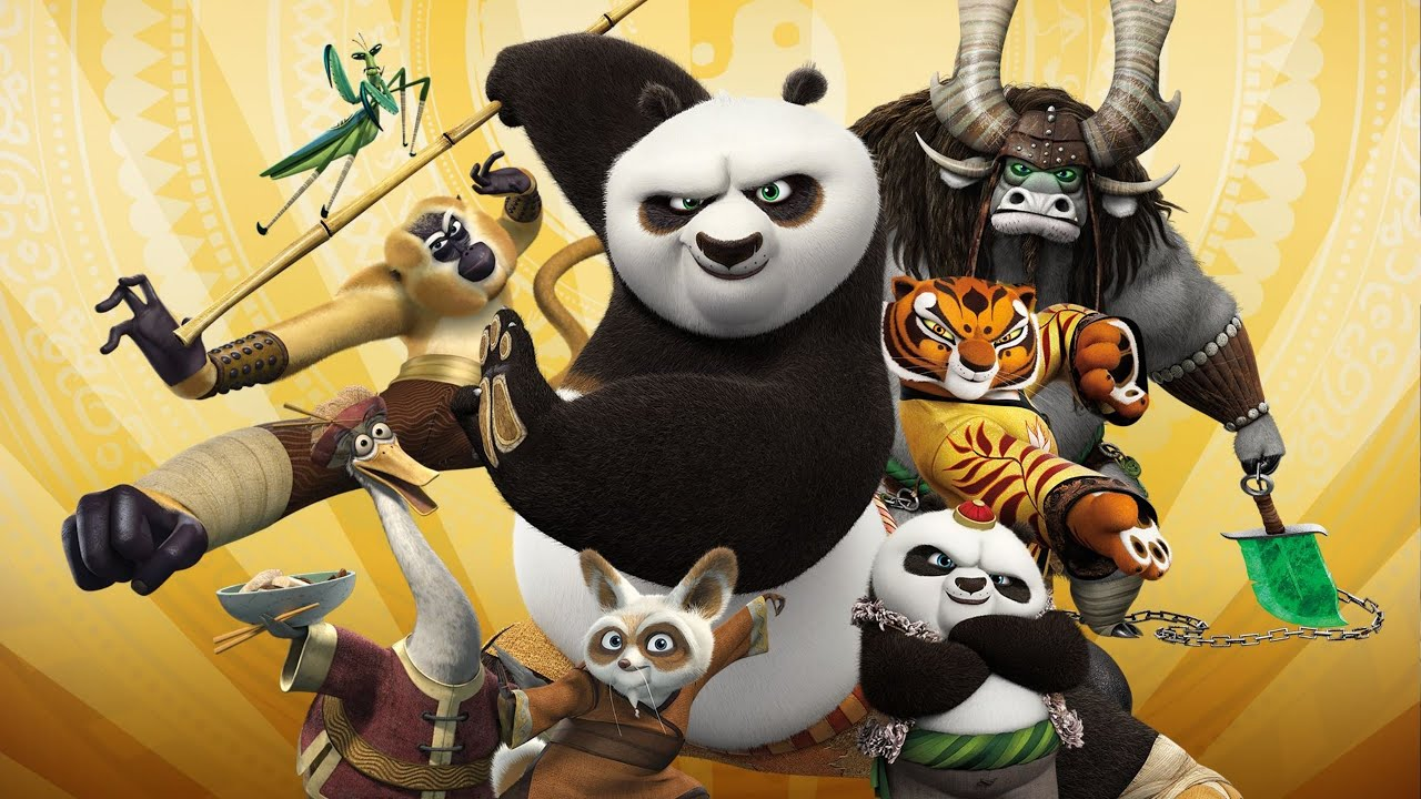 Top 10 Strongest Kung Fu Panda Characters ᴴᴰ [Trilogy Finale] - YouTube