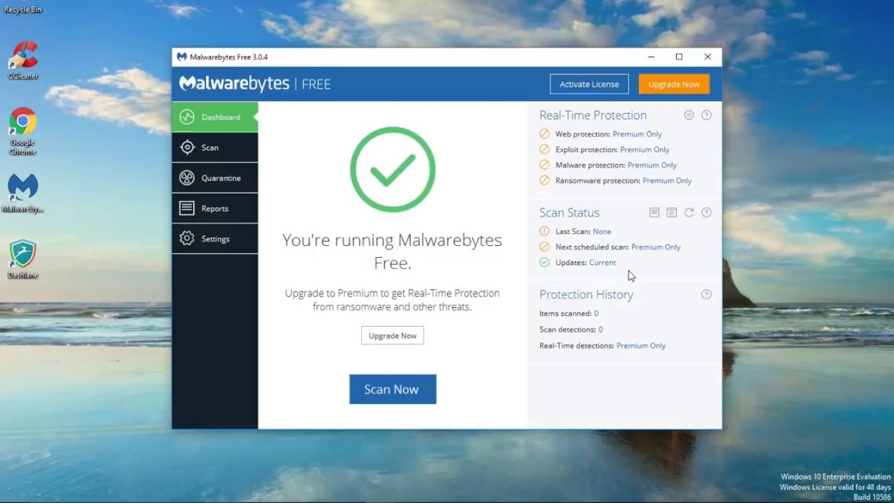 How To Use Malwarebyte 3.0 Free Version | A Fast & Easy ...