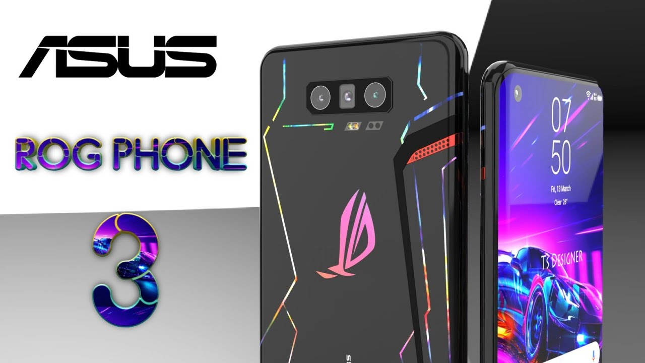 ASUS ROG Phone 3 First Look, Official Introduction Trailer ...