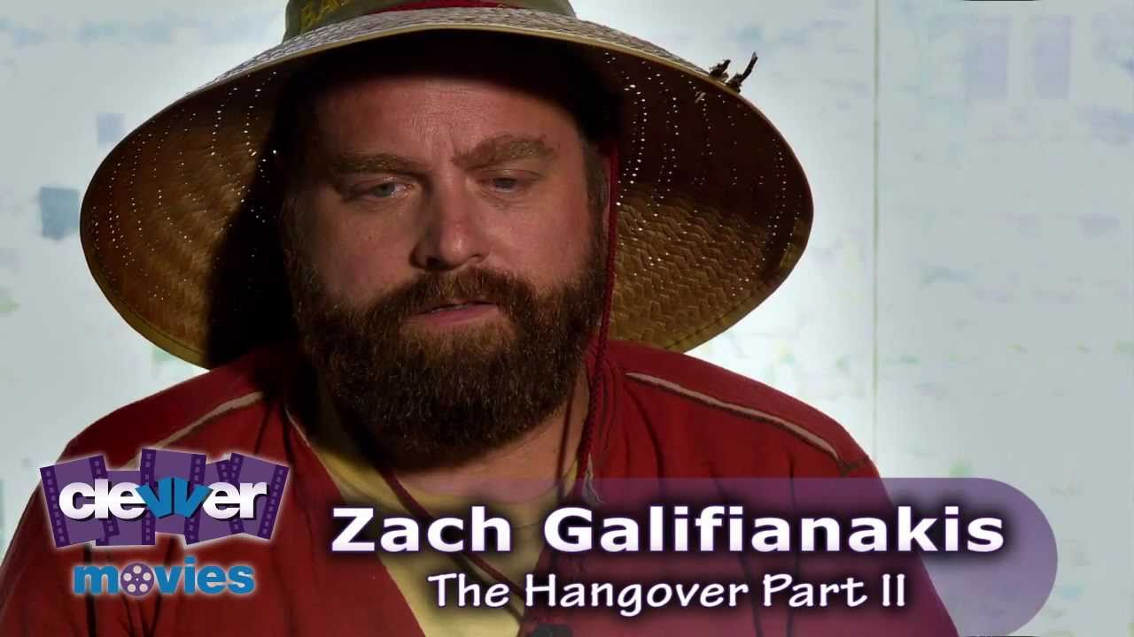 Zach Galifianakis 'The Hangover Part 2' Interview - YouTube