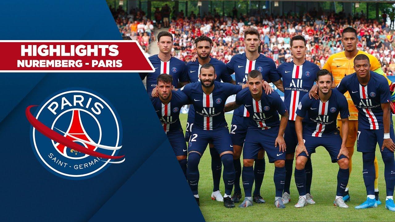 HIGHLIGHTS : NUREMBERG 1 - PARIS SAINT-GERMAIN 1 - YouTube