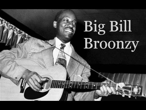 Big Bill Broonzy Guitar Lesson - Fingerpicking The ...