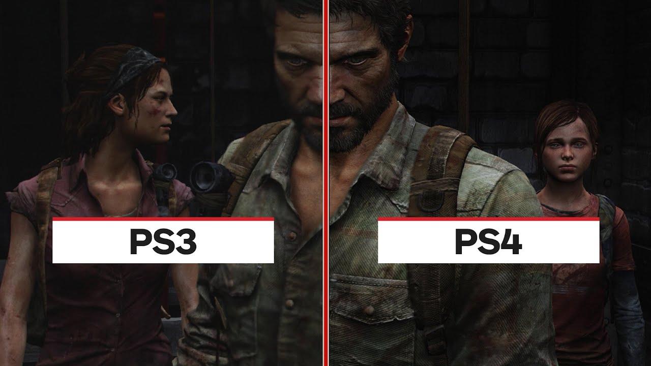 The Last of Us: PS4 vs. PS3 Graphic Comparison - YouTube