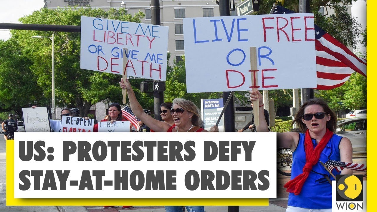 Anti-lockdown protests in US, protesters demand economic ...