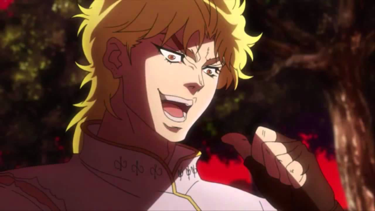 Kono dio da! - YouTube