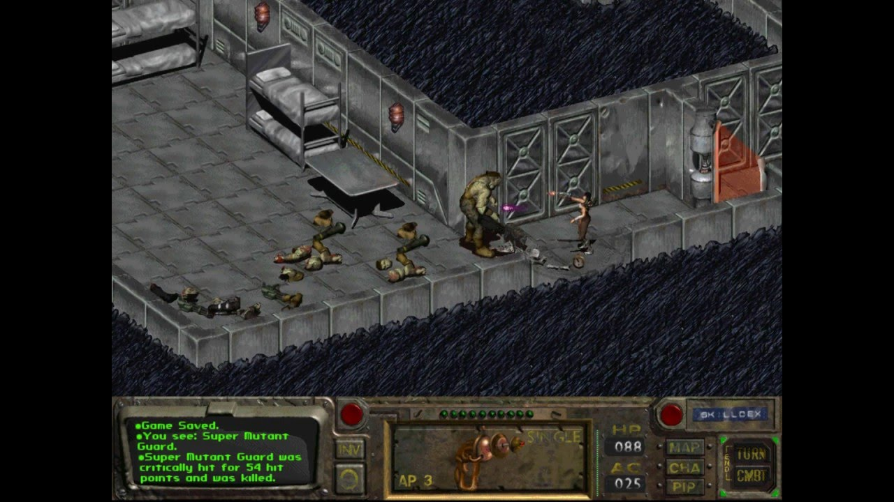 Fallout 1 - trailer - music video - Warriors of the World - gameplay - HD - YouTube