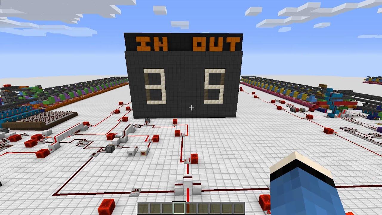 Minecraft: Redstone Brainfuck Computer - YouTube