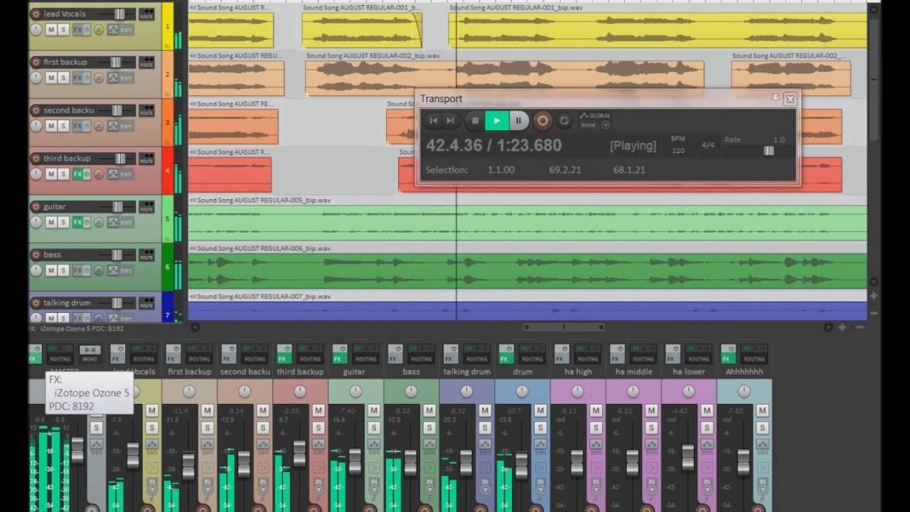 Reaper programa profissional de edição de áudio e podcasts