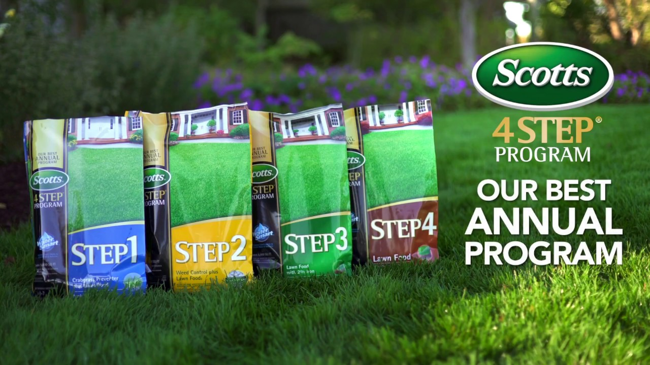 Scotts 4 Step Lawn & Garden Program