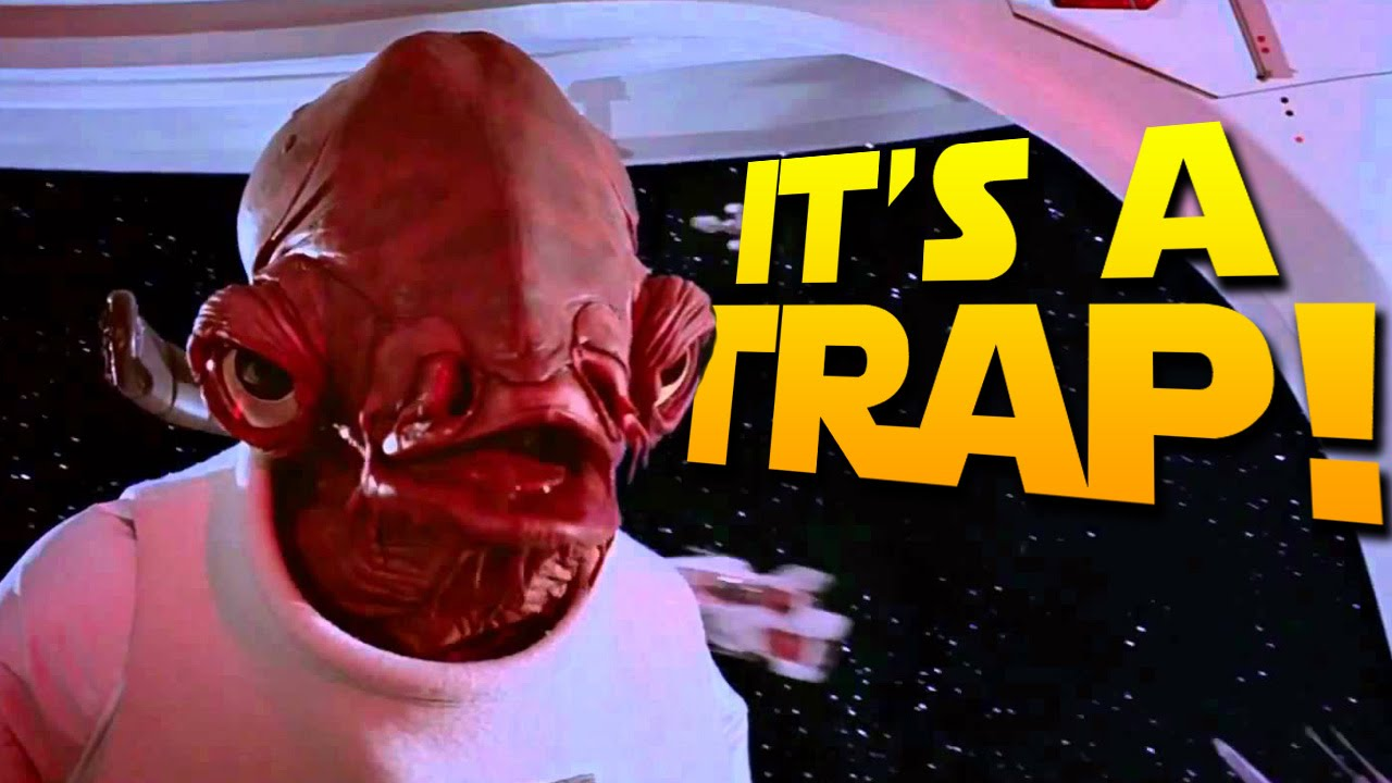 IT'S A TRAP! - Starwars Battlefront II (Galactic Conquest) - YouTube