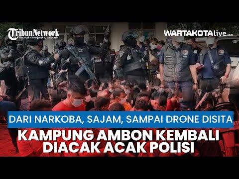 Penggerebekan Kampung Ambon di Cengkareng