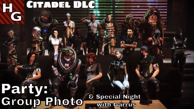 Mass Effect 3 FemShep - 332 - Citadel DLC 36 Party