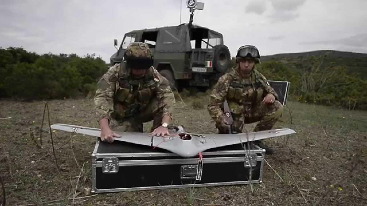 Silent Observer - Italian BRAMOR Drone - YouTube