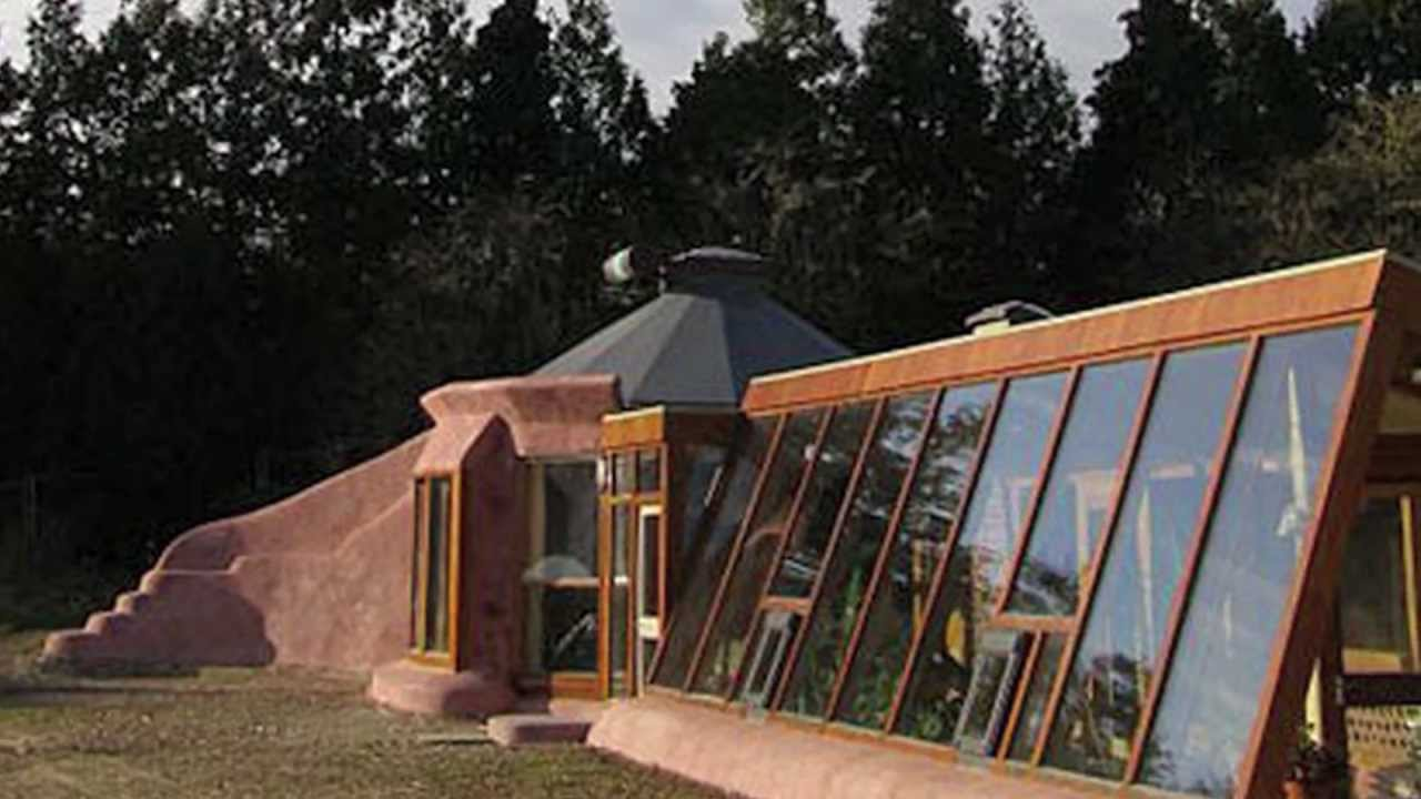 First Hand Look Inside an Earthship - YouTube