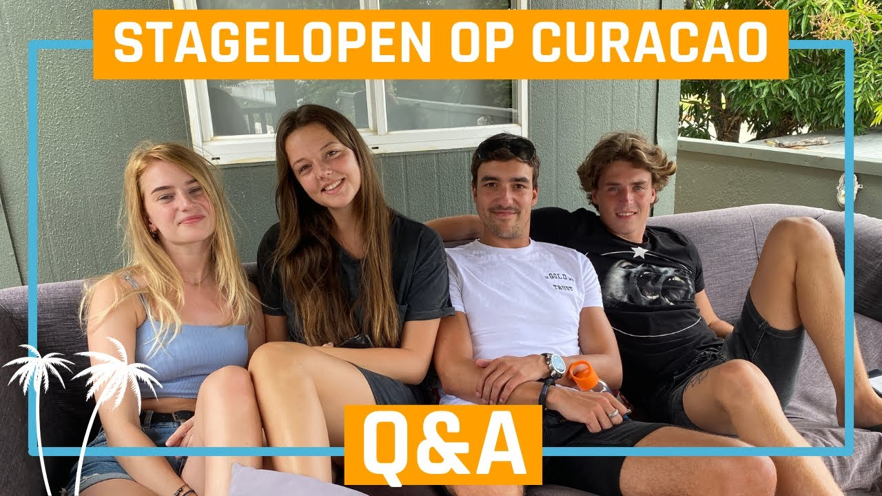 Q&A met stagiaires op Curaçao - Bo Curaçao - YouTube