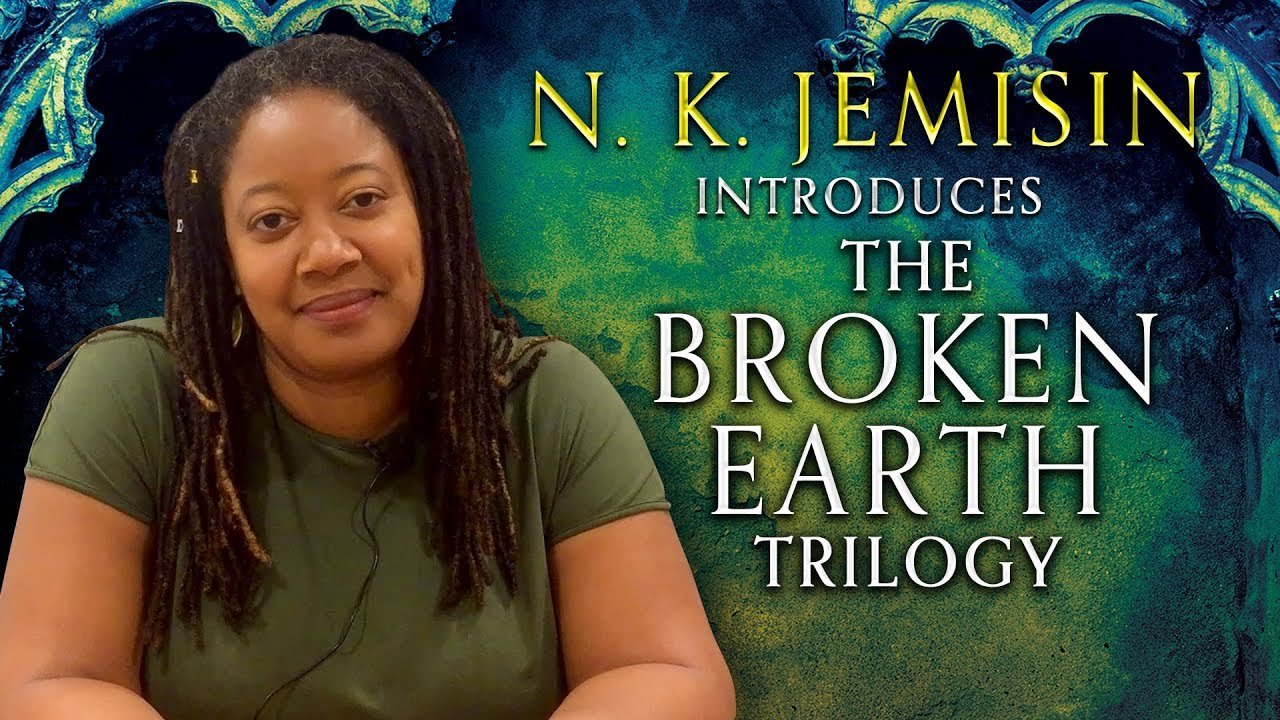 Authors in Orbit: N.K. Jemisin introduces her Broken Earth trilogy - YouTube