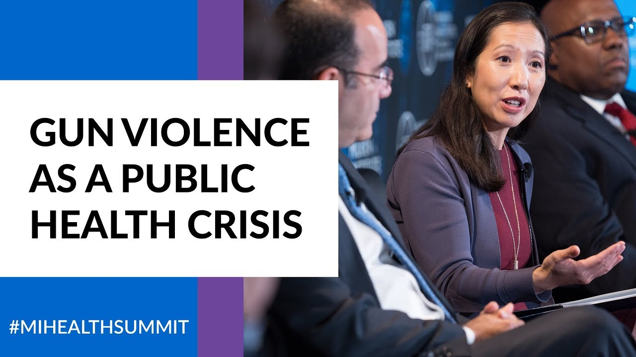 Gun Violence as a Public Health Crisis - YouTube