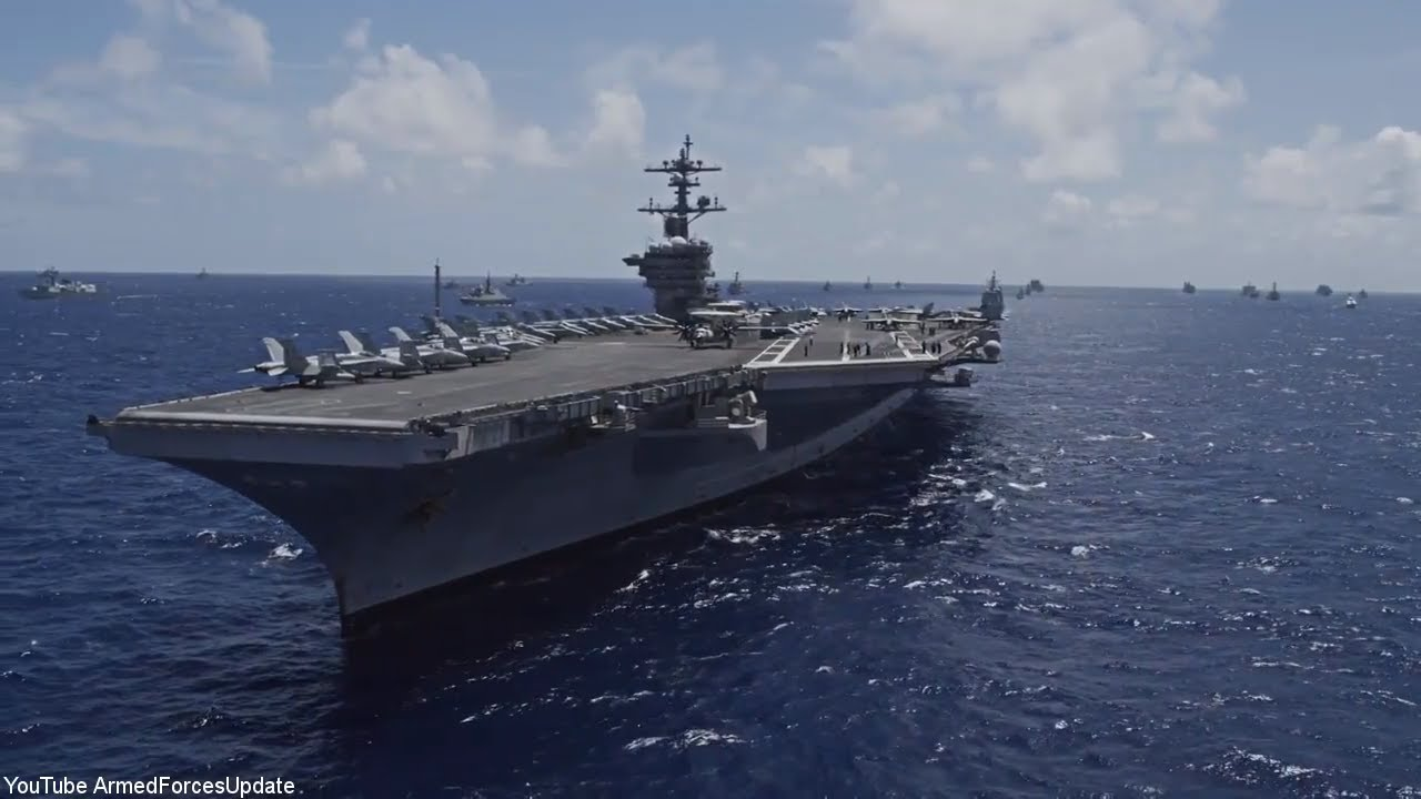 US Military put a SHOW OF US MILITARY POWER with Huge ...