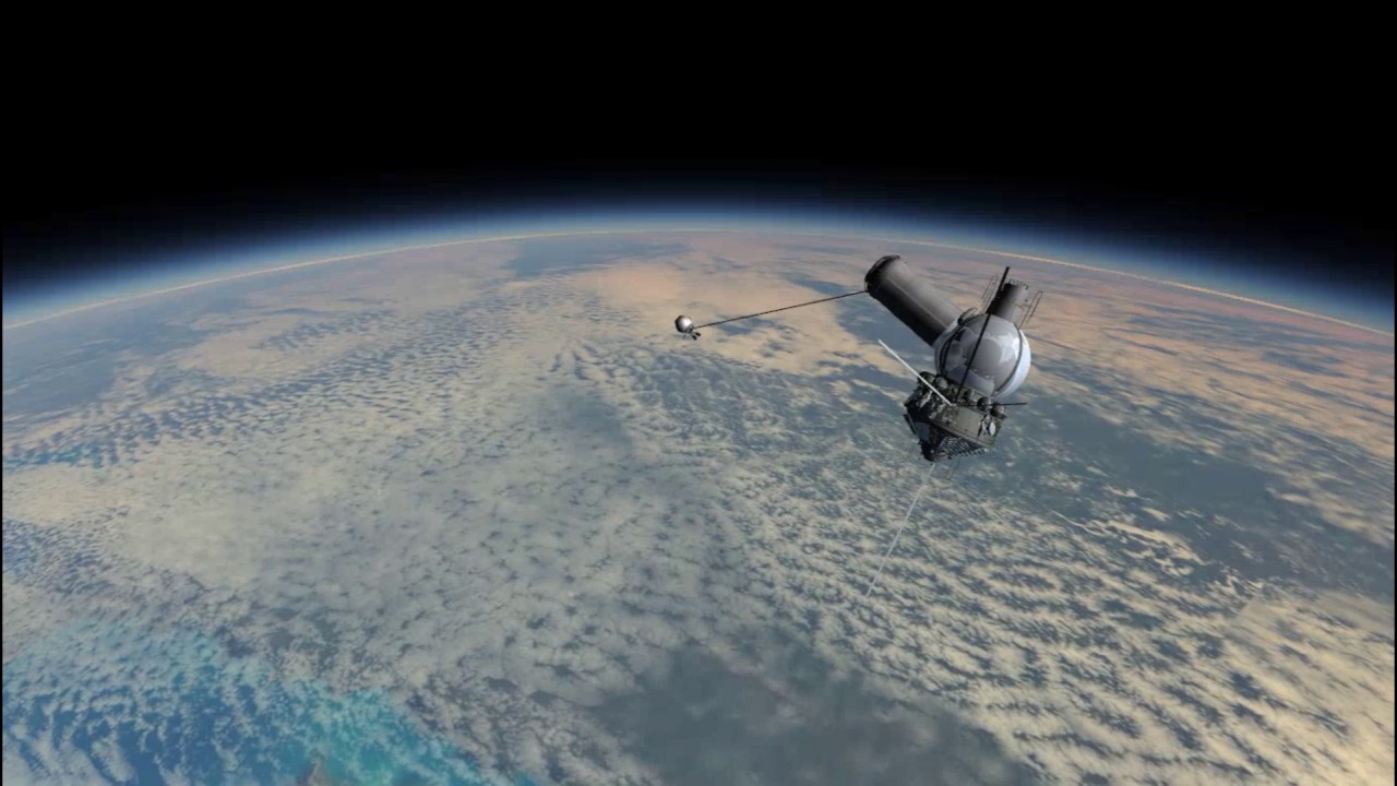 Voskhod 2 (Kerbal Space Program - RSS/RO) - YouTube