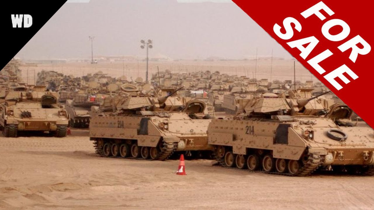 Britain's Military Surplus For Sale - YouTube
