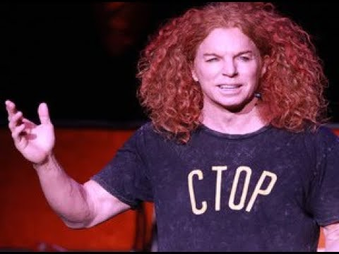 BEST COMEDIAN LAS VEGAS - Carrot Top Luxor 5* REVIEW - YouTube