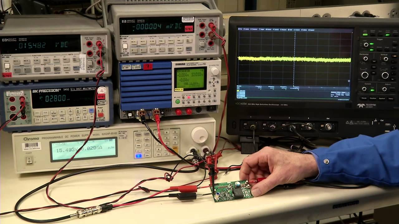Engineer It - How to test power supplies - Measuring Noise ...